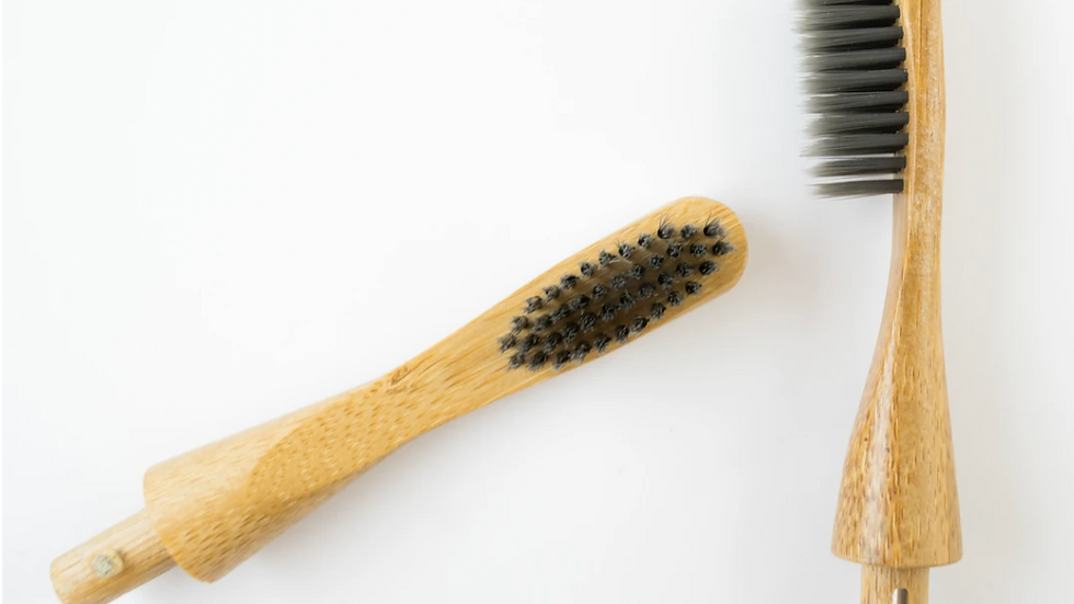 Replaceable Bamboo Toothbrush Head