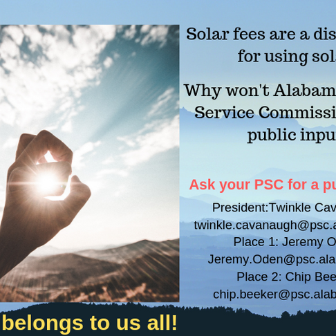 Let the PSC Know You Want A Public Hearing!