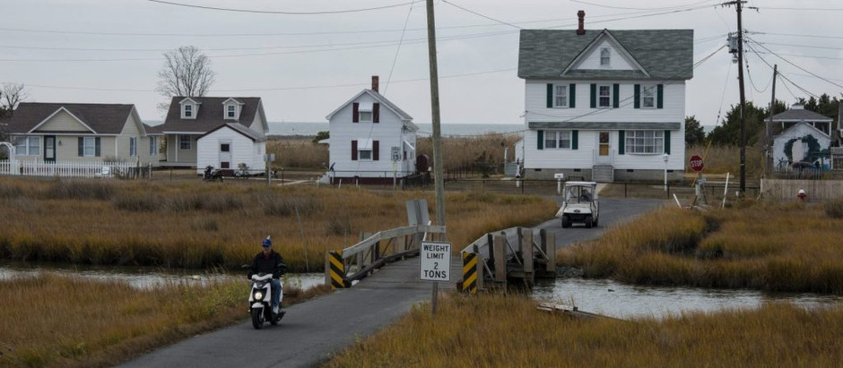 On a sinking island, climate science takes a back seat to the Bible