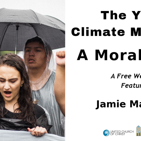 Webinar on the Youth Climate Movement as a Moral Force