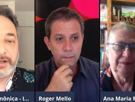 Bate-papo com Ana Maria Machado e Roger Mello está no YouTube
