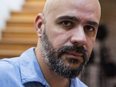 Afonso Cruz é o convidado de março no Quintal da Língua Portuguesa
