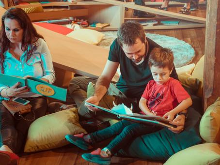 Saiba por que manter a leitura em família durante a pandemia