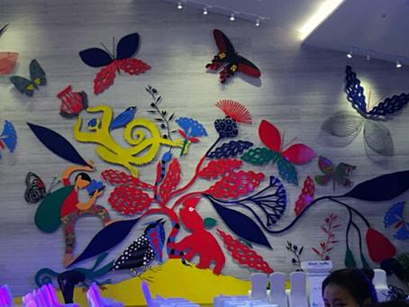 Casa de repouso na China inaugura obra de Roger Mello