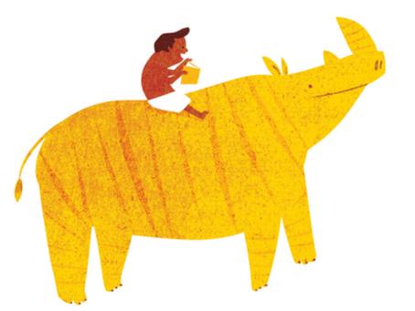 SEIS ANOS DE QUINDIM: Relembre as muitas faces do rinoceronte que já percorreu o mundo
