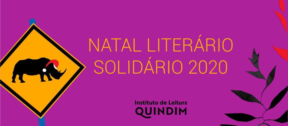 INSTITUTO QUINDIM LANÇA CAMPANHA NATAL LITERÁRIO SOLIDÁRIO 2020