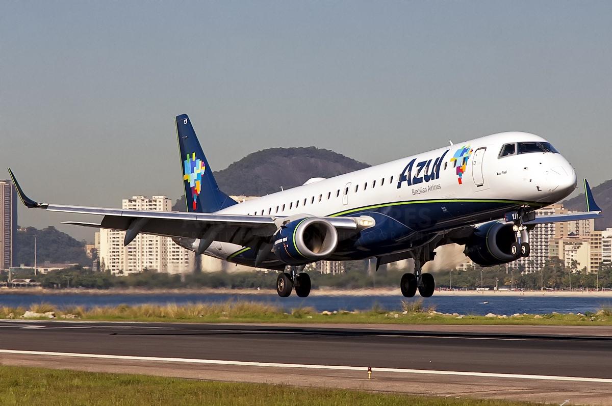 Companhia aérea Azul - Embraer 190-E1