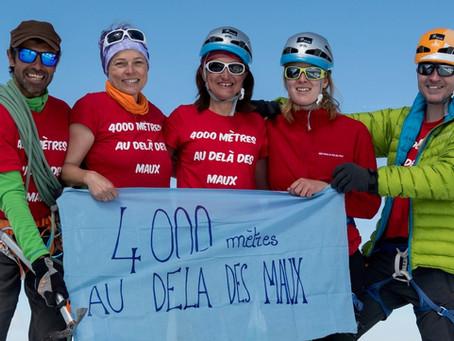 """PMS Soutien l'association """"4000 mètres au delà des maux"""""""