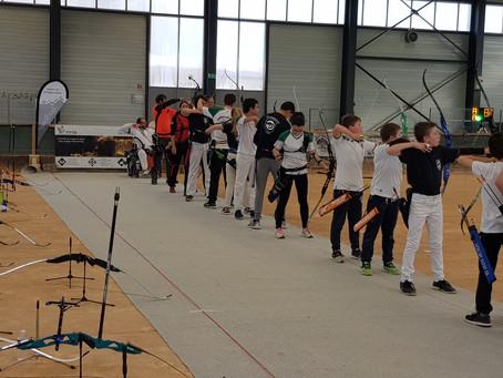 Félicitation à l'équipe jeunes de tir à l'arc de Moirans