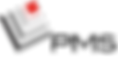 Logo PMS simple HD transparent Noir pour