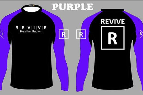 Purple Rash Guard
