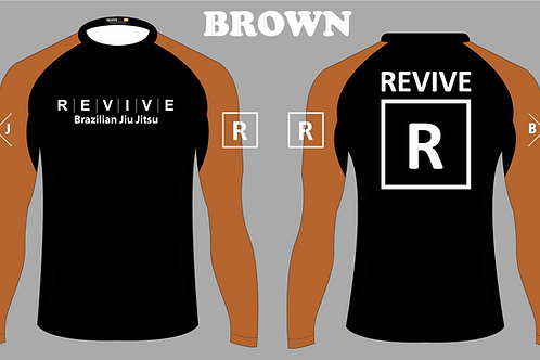 Brown Rash Guard