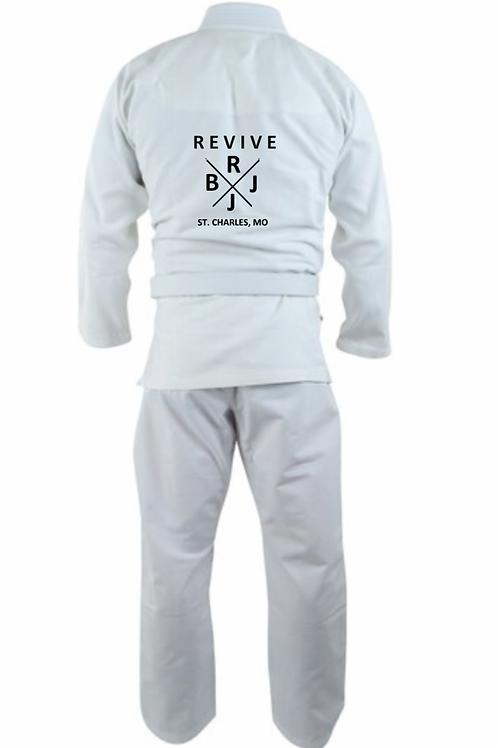 White Kimono - With Free White Belt