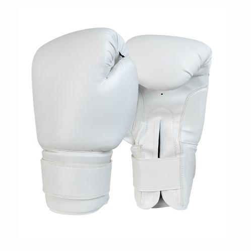White 12 Oz. Boxing Gloves