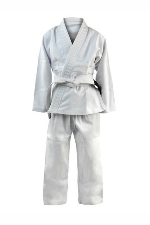 KIDS White Kimono - With Free White Belt
