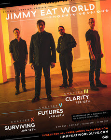 """Jimmy Eat World Wraps Up The Acclaimed Phoenix Sessions Today With Performance Of """"Clarity"""""""