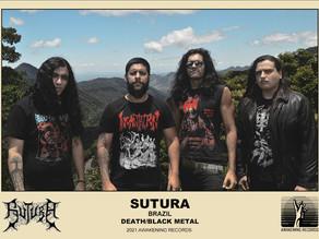 Brazil's Death/Black Metal Band Sutura Unleash Dawn of Cursed Souls on April 24th