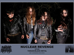 Spanish Black/Thrash Metal Band Nuclear Revenge To Release Dawn Of The Primitive Age on April 24th