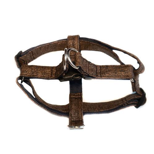 Alfa foxtrot PU leather handmade harness