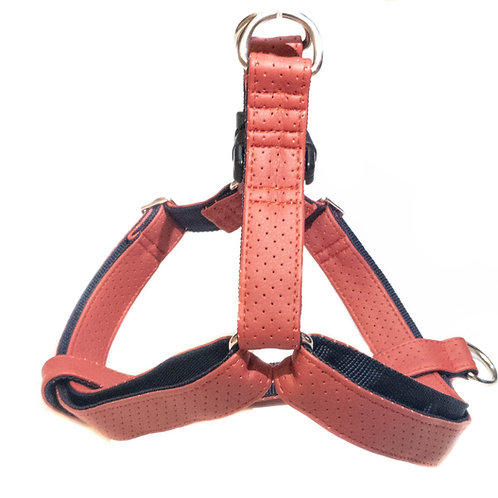 RIVIERA RED handmade harness