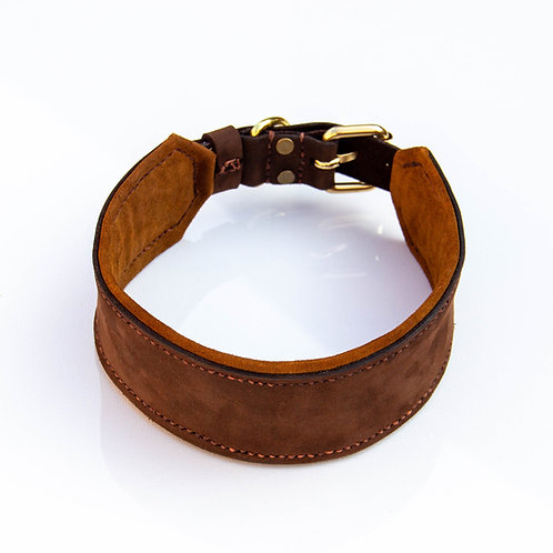 Soft and Wide handmade collar from leather