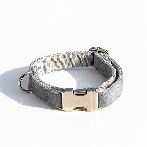 GREY handmade collar