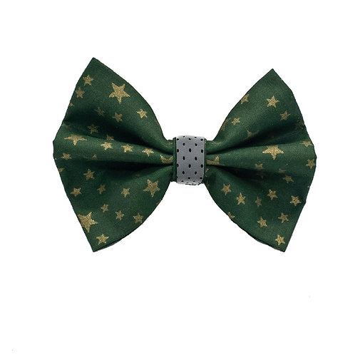 Green night bow tie