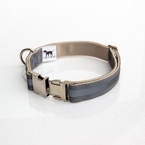 Grey Reflective Collar