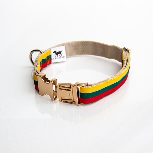 Lithuanian flag Collar