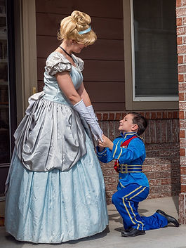 Cinderella - Princes Charming - Princess Characters - Birthday Parties - Denver's Princess