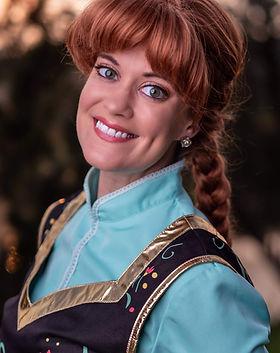Dancing Princess Parties - Frostbite Princess - Frozen - Princess Anna - Frozen Birthday P