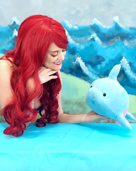 Little Mermaid - Ariel - Ballerina Mermaid - Under the Sea - Castle Rock Colorado - Birthd