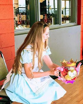 Alice in Wonderland - Tea Parties - Birthday Parties - UnBirthday Parties - Alice - Dancin
