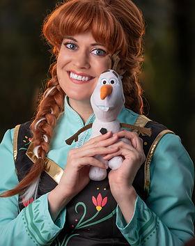 Frostbite Princess | Dancing PRincess Parties | Princess Characters in Castle Rock, Parker