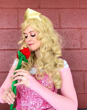 Princess Aurora - Briar Rose - The Sleeping Beauty - Princess Birthday Parties - Castle Ro