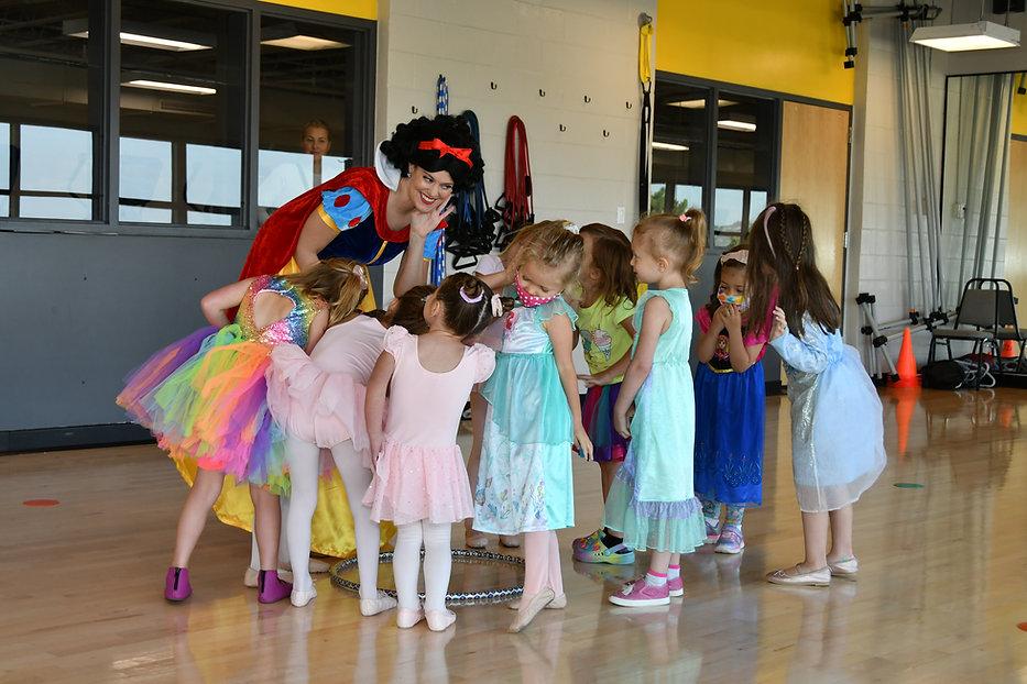 Princess Birthday Parties | Castle Rock Colorado | Castle Rock Rec Center | Miller Activit