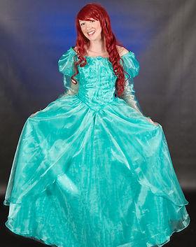 Dancing Princess Parties - Princess Parties - Princess Characters - The little Mermaid - M