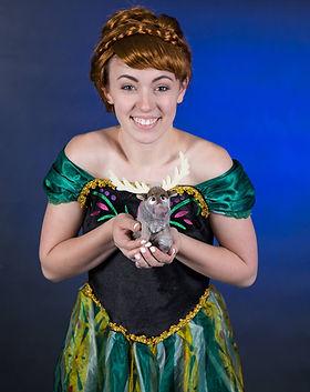 Princess Anna and Sven - Frozen - Frozen Party - Frozen Characters - Dancing Princess Part