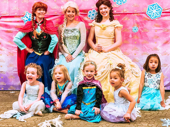 Castle Rock Princess Parties - Castle Rock Rec Center - Miller Activity Complex - Birthday