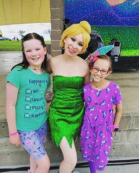 Tinker Bell - Dancing Princess Parties - Denver Princess Parties - Fairy Birthday Party -