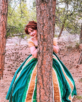Princess Anna - Anna and Elsa - Frozen Characters - Frozen Brithday Party - Parker Colorad
