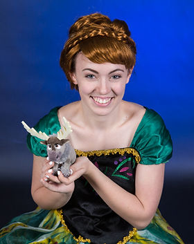Princess Anna - Sven the Reindeer - Frozen - Frozen Characters - Princess Characters - Pri