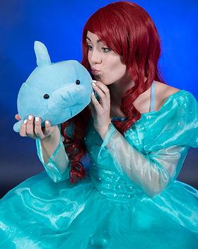 Little Mermaid Princess - Dancing Princess Parties - Princess Party Characters - Mermaid B