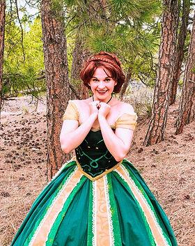Princess Birthday Parties - Denver's Princess Company - Coronation Princess - Frozen Birth