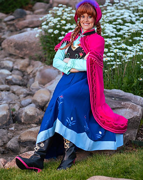 Princess Anna | Traveler Outfit | Frozen 1 | | Frozen Characters | Frozen Birthday | Frost