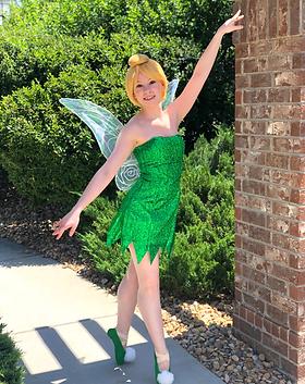 Pixie Princess - Tinker Bell - Dancing Princess Parties - Denver's Princess Company - Tink
