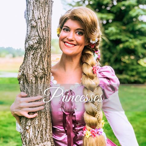 Dancing Princess Parties  Denver's Princess Company  Princess Characters.png
