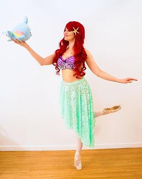 Ballerina Mermaid - Princesses en pointe - Ballerina Party - Mermaid Party - Birthday Part