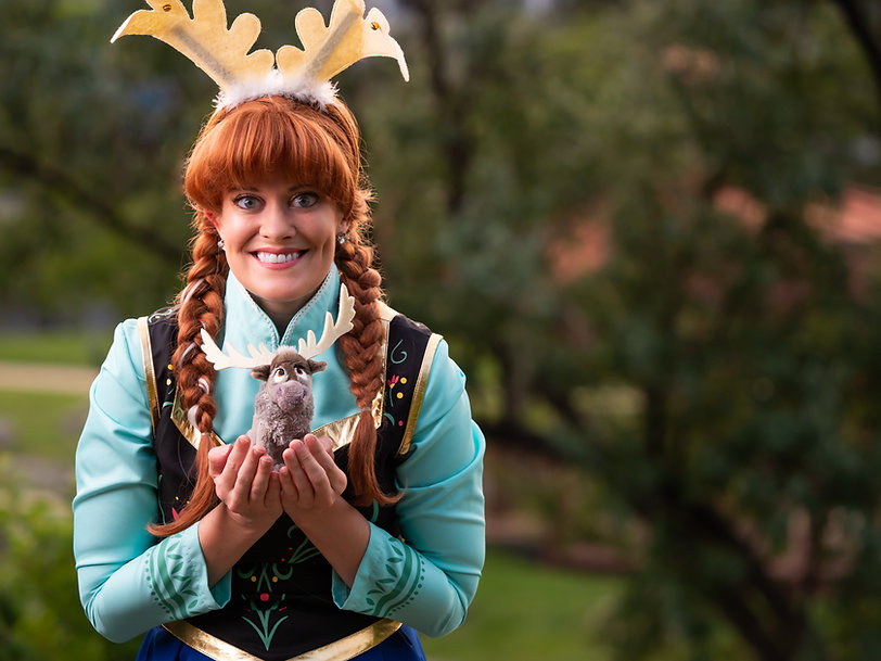 Princess Anna of Arendelle | Princess Characters | Birthday Parties and Events | Pricness