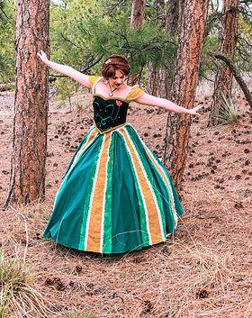 Coronation Princess - Princess Anna - Frozen Birthday Party - Frozen Characters - Castle R